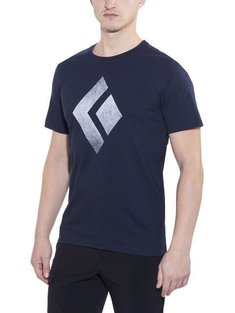 Black Diamond Chalked Up t-shirt Heren blauw